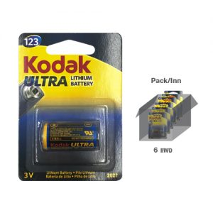 KODAK ULTRA LITHIUM CR123A (1 pack)